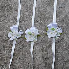 Náramky - Náramky pre družičky s orchideou - 7845078_