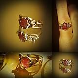 Prstene - rubelitový - 7844233_