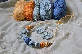 Sady šperkov - Set kojokvietok - 7845896_
