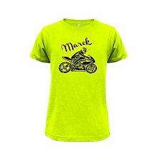 Detské oblečenie - tričko motorka - 7845700_
