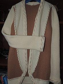 Svetre/Pulóvre - Pletený sveter - 7843602_