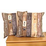 Úžitkový textil - Vankúš Námornícky IV - 7844149_