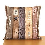 Úžitkový textil - Vankúš Námornícky IV - 7844150_