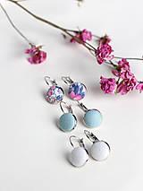 Sady šperkov - Jarná kolekcia - set troch pôvabných náušníc - 7843658_
