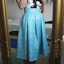 Sukne - Florálna sukňa - 7843606_