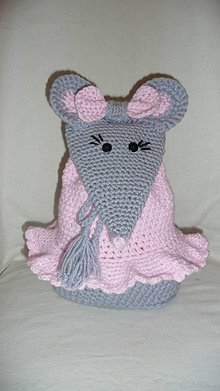 Batohy - Detský batôžtek - myška - 7844527_
