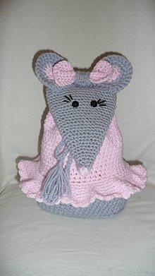 Detské tašky - Detský batôžtek - myška - 7844527_