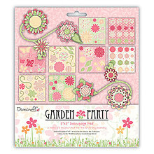 Papier - Garden Party Decoupage Pad (8x8, 3D decoupage) - 7843097_