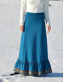 Sukne - Modrá Adriana - 7843219_