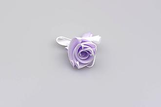 Pierka - Pierko bledofialové ruža - 7843815_