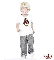 Detské oblečenie - Detské tričko - Penguin - 7844490_