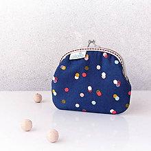 Peňaženky - Peňaženka Rozutekané bodky - 7843153_