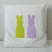 Úžitkový textil - Obliečka Zajkovia - 7843375_