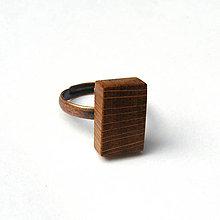 Prstene - Dubový kvádrik - 7845826_