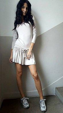 Šaty - Šaty Mona béžové - 7844774_