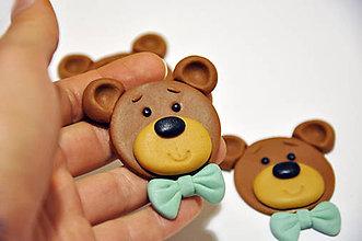 Drobnosti - Medvedíky na muffiny - 7850620_