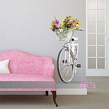 Dekorácie - (3570f) Nálepka na stenu - Bicykel - 7848520_