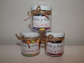 Darčeky pre svadobčanov - Svadobné sladkosti pre svadobčanov - 7850084_