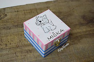 Krabičky - krabička pre Mišku - 7850845_