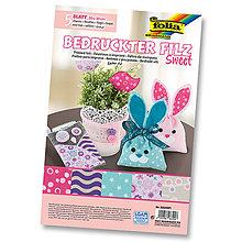 Textil - Filc potlačený - SWEET - 7846720_