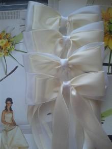 Iné doplnky - mašle na svadobné auto - 7846883_