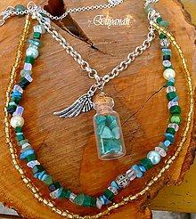 Náhrdelníky - Anjelský amulet 3 - 7847292_