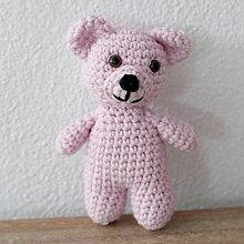 Hračky - ružový medvedík - 7847071_
