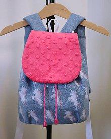 Detské tašky - Batoh s jednorožcami - 7849326_