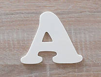 Polotovary - Drevené písmená-abeceda z preglejky hrúbka 4mm - 7849903_