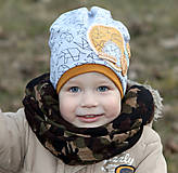 Detské čiapky - Prechodná čiapka - 7850585_