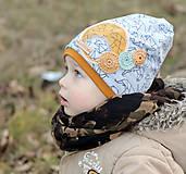 Detské čiapky - Prechodná čiapka - 7850586_
