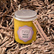 Drogéria - TVOJ Jemný šľahaný peeling marhuľa a medovka 300 ml - 7847058_