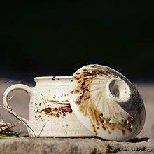 Nádoby - Nádoba Česnečka malá - Vůně kávy - 7850590_