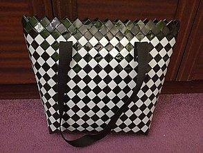 Kabelky - Šachovnicová kabelka - 7850567_