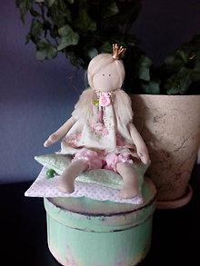 Bábiky - Princezná na hrášku - 7847853_