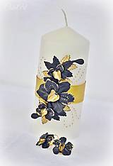 Náušnice - Luxusná svadba - náušnice s orchideou - 7849708_