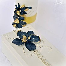Krabičky - Luxusná svadba - krabička na svadobné obrúčky - 7849670_
