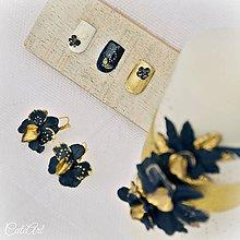 Iné šperky - Luxusná svadba - ozdoby na nehty (sada 30 ks) - 7850188_