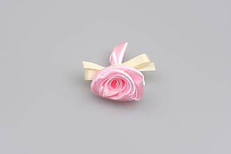 Pierka - Pierko bledoružové ruža (bledoružovo-krémové) - 7847321_