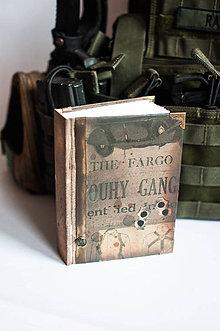 Papiernictvo - Soldier Man Diary /na zákazku - 7846756_
