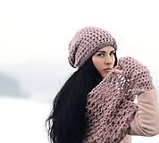Čiapky - Čepka Růžová mlha - 7848482_