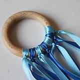 Úchopový krúžok modrý