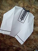 Detské oblečenie - Chlapčenská košeľa - 7847260_
