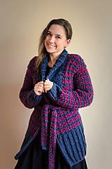 Svetre/Pulóvre - Dvojfarebný sveter - 7849421_