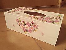 Krabičky - Servítkovník kvetovaný. - 7853633_
