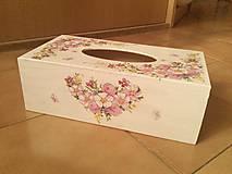 Krabičky - Servítkovník kvetovaný. - 7853639_