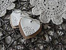 Svadobné srdiečka - čipkovance:-)