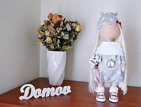 Bábiky - Autorská bábika v šatočkách - 7851992_