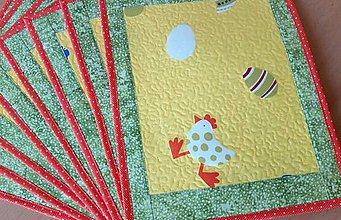Úžitkový textil - Velikonoční prostírání - 7854566_