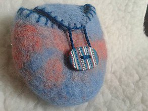 Detské tašky - tajnostkárik - modrý - 7851125_